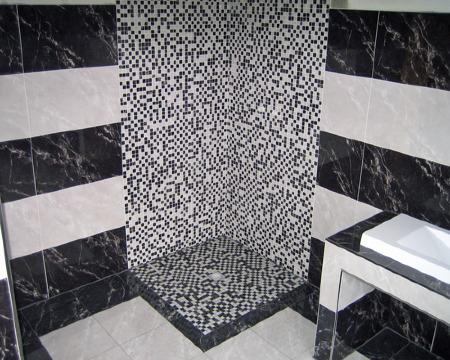 dusche mosaik rund mosaikfliesen keramikmosaik fliesen. Black Bedroom Furniture Sets. Home Design Ideas